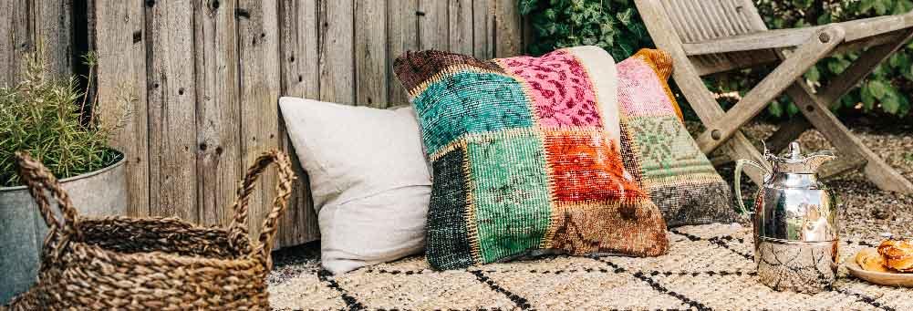 Patchwork pillowcase