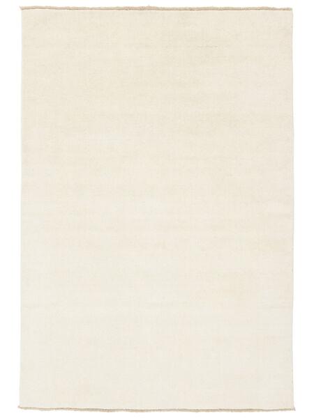 Handloom Fringes - Light Rug 160X230 Modern Beige (Wool, India)