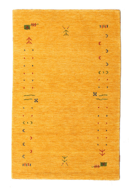Gabbeh Loom Frame - Yellow Rug 100X160 Modern Yellow/Orange (Wool, India)