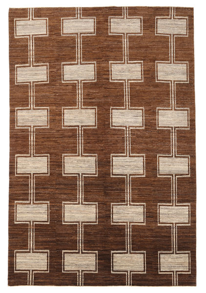 Ziegler Modern Rug 195X292 Authentic  Modern Handknotted Brown/Dark Brown (Wool, Pakistan)