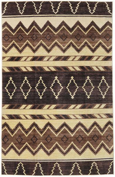 Ziegler Modern Rug 179X276 Authentic  Modern Handknotted Dark Brown/Brown (Wool, Pakistan)