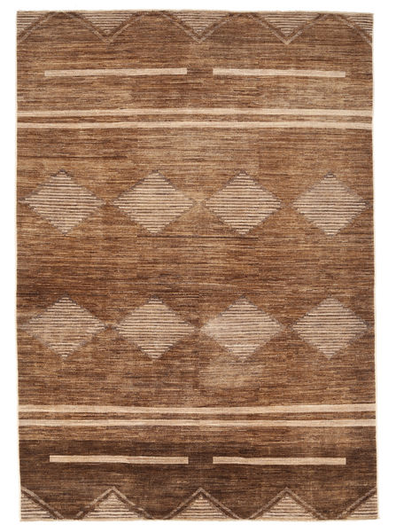 Ziegler Modern Rug 184X265 Authentic  Modern Handknotted Brown/Dark Brown (Wool, Pakistan)