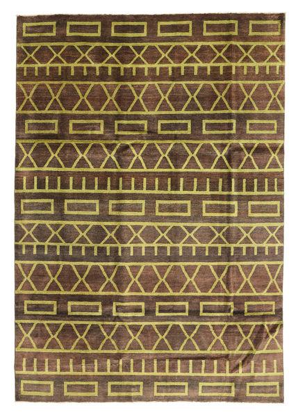 Ziegler Modern Rug 200X288 Authentic  Modern Handknotted Dark Brown/Brown/Light Brown (Wool, Pakistan)