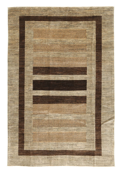 Ziegler Modern Rug 194X297 Authentic  Modern Handknotted Light Brown/Light Grey (Wool, Pakistan)