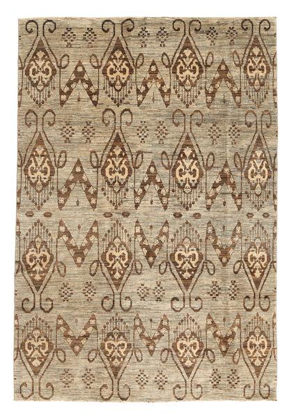 Ziegler Modern Rug 191X283 Authentic  Modern Handknotted Light Brown/Brown/Light Grey (Wool, Pakistan)
