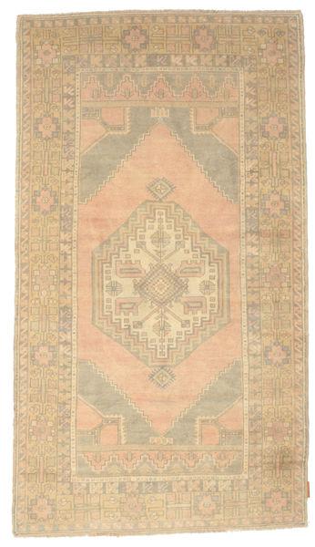 Colored Vintage Rug 116X206 Authentic  Modern Handknotted Beige/Dark Beige (Wool, Turkey)