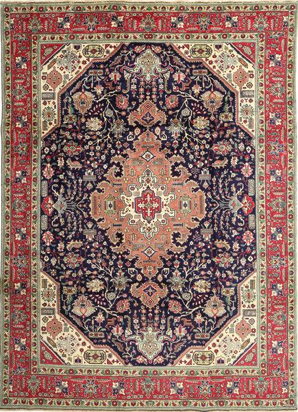 Tabriz Patina Rug 250X350 Authentic  Oriental Handknotted Dark Grey/Brown Large (Wool, Persia/Iran)