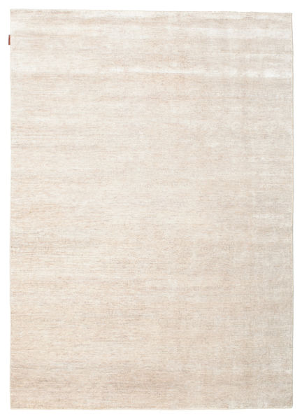 Himalaya Rug 180X253 Authentic  Modern Handknotted Beige/Light Grey ( India)