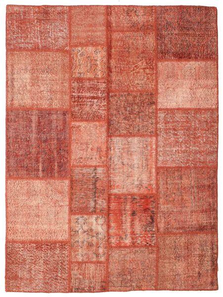 Patchwork Rug 173X231 Authentic  Modern Handknotted Crimson Red/Dark Red (Wool, Turkey)