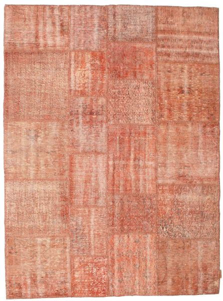 Patchwork Rug 172X233 Authentic  Modern Handknotted Light Pink/Light Brown (Wool, Turkey)