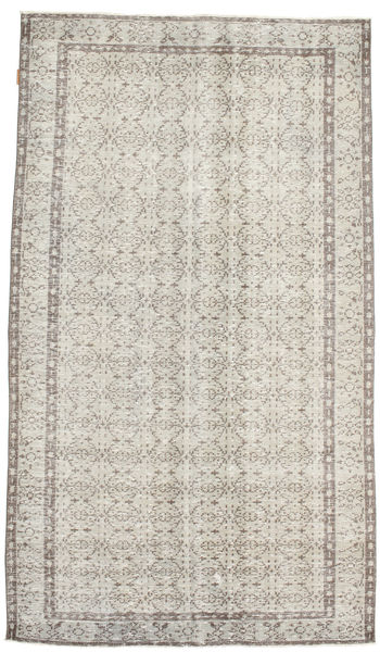 Colored Vintage Rug 143X254 Authentic  Modern Handknotted Light Grey/Dark Beige (Wool, Turkey)
