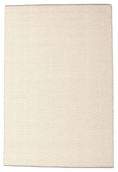 Bobbie - White_Grey Rug 160X230 Authentic  Modern Handwoven Beige/Light Grey (Wool, India)