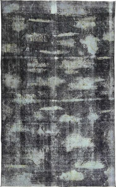Colored Vintage Rug 188X308 Authentic  Modern Handknotted Dark Grey/Light Blue (Wool, Persia/Iran)