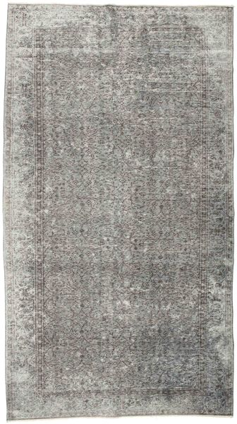 Colored Vintage Rug 152X274 Authentic  Modern Handknotted Light Grey/Dark Grey (Wool, Turkey)