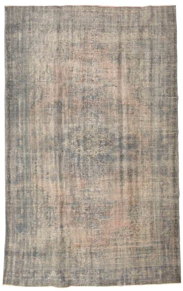 Colored Vintage Rug 188X296 Authentic  Modern Handknotted Light Grey (Wool, Turkey)