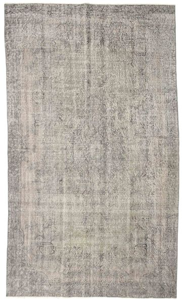 Colored Vintage Rug 167X290 Authentic  Modern Handknotted Light Grey (Wool, Turkey)