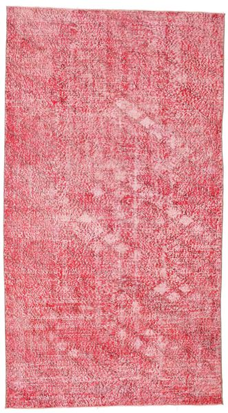 Colored Vintage Rug 152X278 Authentic  Modern Handknotted Pink/Light Pink (Wool, Turkey)