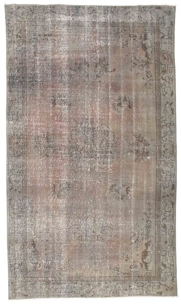 Colored Vintage Rug 156X270 Authentic  Modern Handknotted Light Grey (Wool, Turkey)