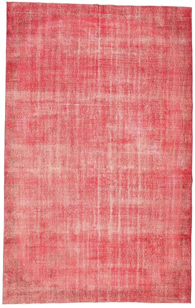 Colored Vintage Rug 187X298 Authentic  Modern Handknotted Light Pink/Pink (Wool, Turkey)
