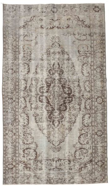 Colored Vintage Rug 166X292 Authentic  Modern Handknotted Light Grey (Wool, Turkey)