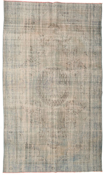 Colored Vintage Rug 175X301 Authentic  Modern Handknotted Light Grey (Wool, Turkey)
