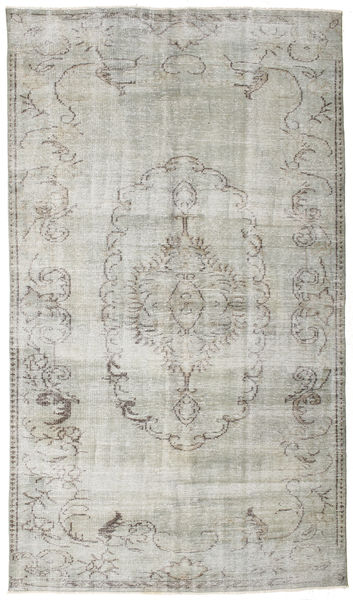 Colored Vintage Rug 167X287 Authentic  Modern Handknotted Light Grey/Dark Beige (Wool, Turkey)
