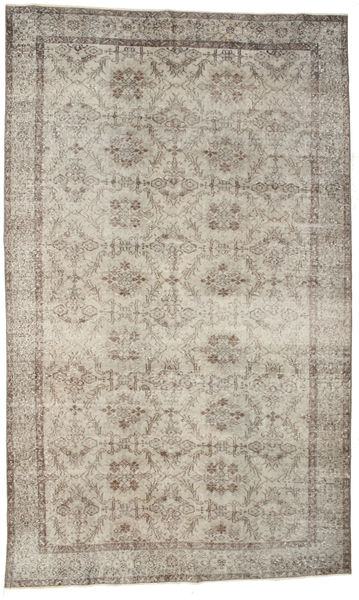 Colored Vintage Rug 180X297 Authentic  Modern Handknotted Light Grey (Wool, Turkey)