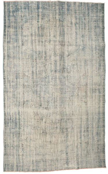 Colored Vintage Rug 177X295 Authentic  Modern Handknotted Light Grey/Dark Grey (Wool, Turkey)