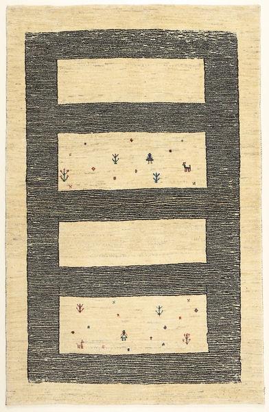 Lori Baft Persia Rug 99X156 Authentic  Modern Handknotted Beige/Dark Grey (Wool, Persia/Iran)