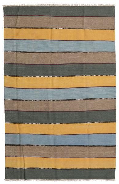 Kilim Rug 168X262 Authentic  Oriental Handwoven Dark Grey/Light Grey (Wool, Persia/Iran)