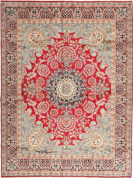 Kerman Rug 295X400 Authentic  Oriental Handknotted Light Brown/Rust Red Large (Wool, Persia/Iran)