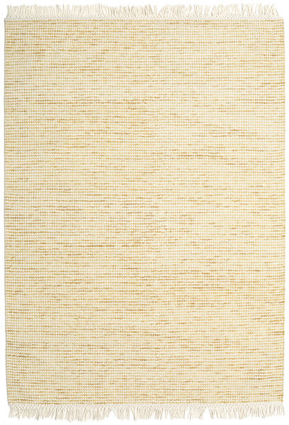 Medium Drop - Yellow Mix Rug 210X290 Authentic  Modern Handwoven Beige (Wool, India)