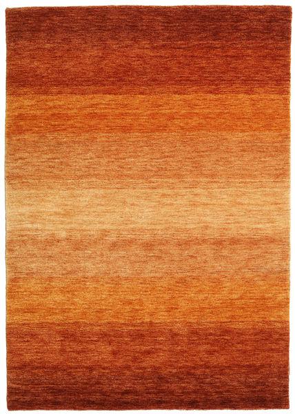 Gabbeh Rainbow - Rust Rug 140X200 Modern Orange/Rust Red/Light Brown (Wool, India)