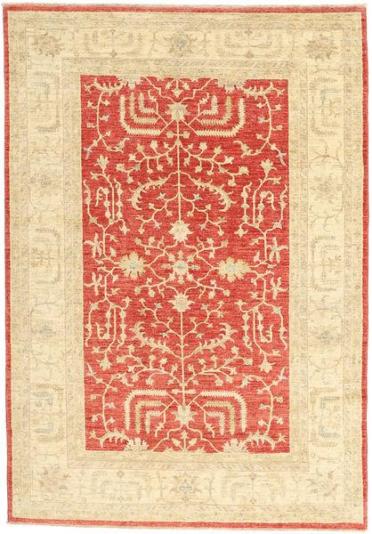 Ziegler Rug 165X239 Authentic  Oriental Handknotted Beige/Rust Red (Wool, Pakistan)