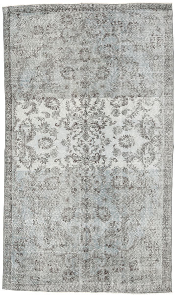 Colored Vintage Rug 168X284 Authentic  Modern Handknotted Light Grey/Turquoise Blue (Wool, Turkey)