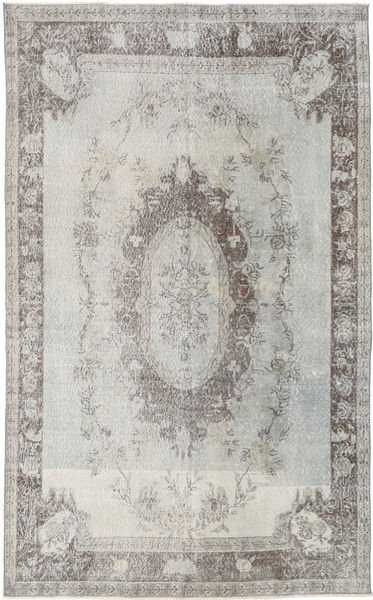 Colored Vintage Rug 180X295 Authentic  Modern Handknotted Light Grey (Wool, Turkey)