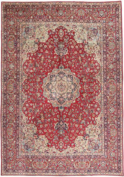 Kerman Rug 290X415 Authentic  Oriental Handknotted Dark Red/Rust Red Large (Wool, Persia/Iran)