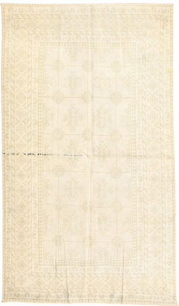 Vintage Rug 130X227 Authentic  Modern Handknotted Yellow/Beige/White/Creme (Wool, Persia/Iran)