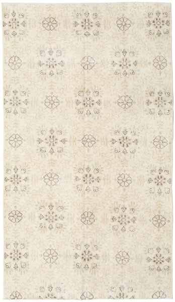 Colored Vintage Rug 115X204 Authentic  Modern Handknotted Beige/Light Grey (Wool, Turkey)