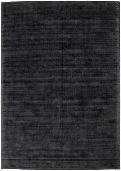 Tribeca - Charcoal Rug 240X340 Modern Black/Dark Grey ( India)