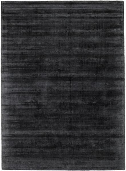 Tribeca - Charcoal Rug 210X290 Modern Black/Dark Grey ( India)