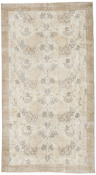 Colored Vintage Rug 115X210 Authentic  Modern Handknotted Light Grey (Wool, Turkey)