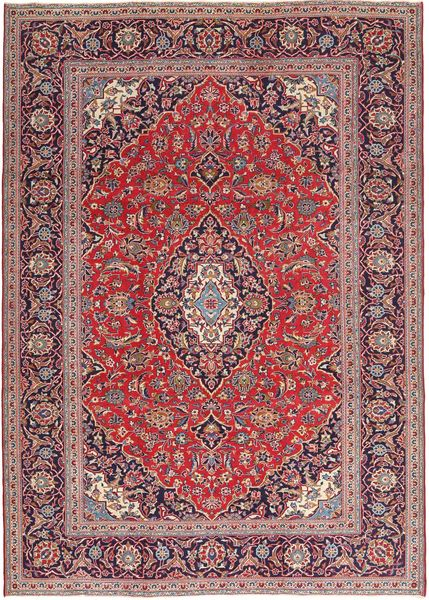 Keshan Patina Rug 235X328 Authentic  Oriental Handknotted Dark Red/Light Purple (Wool, Persia/Iran)