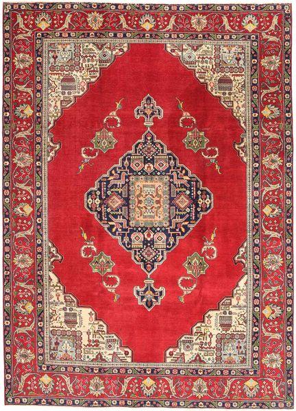 Tabriz Patina Rug 236X324 Authentic  Oriental Handknotted Crimson Red/Dark Red (Wool, Persia/Iran)