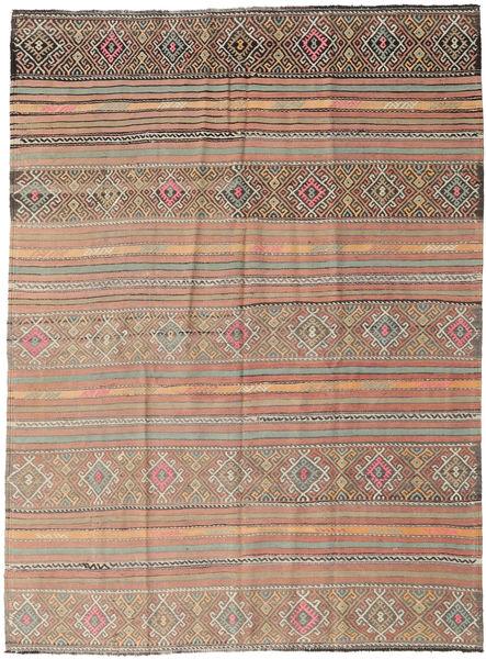 Kilim Turkish Rug 178X238 Authentic  Oriental Handwoven Light Grey/Light Brown (Wool, Turkey)
