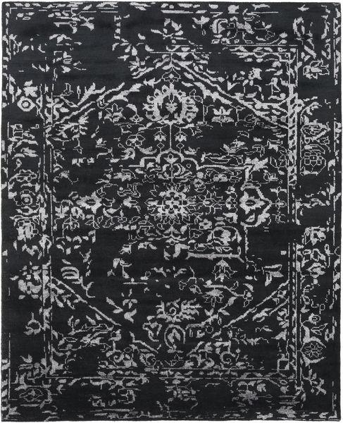 Orient Express - Black Rug 240X300 Authentic  Modern Handknotted Dark Grey (Wool/Bamboo Silk, India)