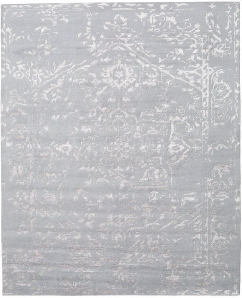 Orient Express - Grey Rug 240X300 Authentic  Modern Handknotted Light Grey (Wool/Bamboo Silk, India)