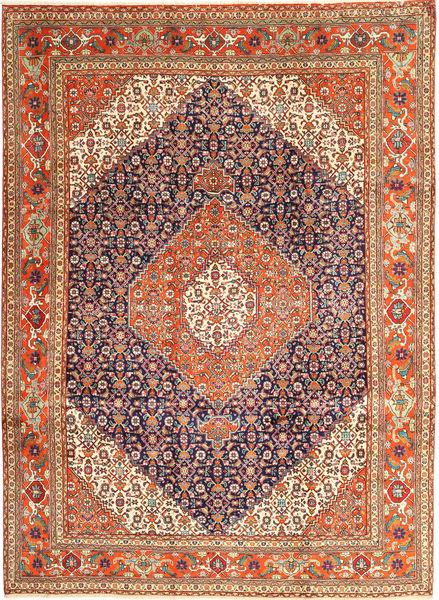 Tabriz Rug 258X345 Authentic  Oriental Handknotted Dark Red Large (Wool, Persia/Iran)