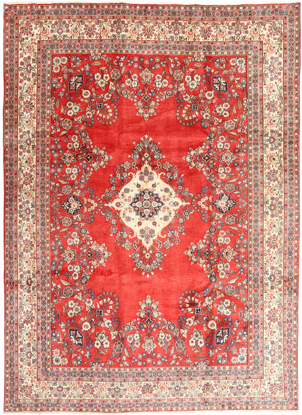 Hamadan Shahrbaf Rug 265X363 Authentic  Oriental Handknotted Light Brown/Brown Large (Wool, Persia/Iran)