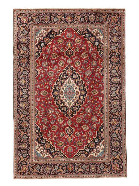 Keshan Rug 195X292 Authentic  Oriental Handknotted Rust Red/Brown (Wool, Persia/Iran)